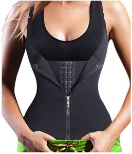 Adjustable Straps Women Slimming Vest Quick Weight Lose Body Building Tank Top Waist Cincher