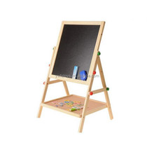 FQ brand writing magnetic board wood drawing stand collapsible easel educational toys for kids