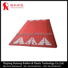 1000mm red eurpoean durable cable protector ramp, kerb ramp