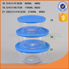 Hotsale 500ml borosilicate glass food container for American market