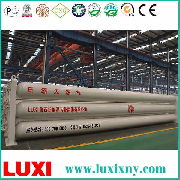 Lng Storage Steel Cylinder Cng Container , Best Cng Gas Cylinder