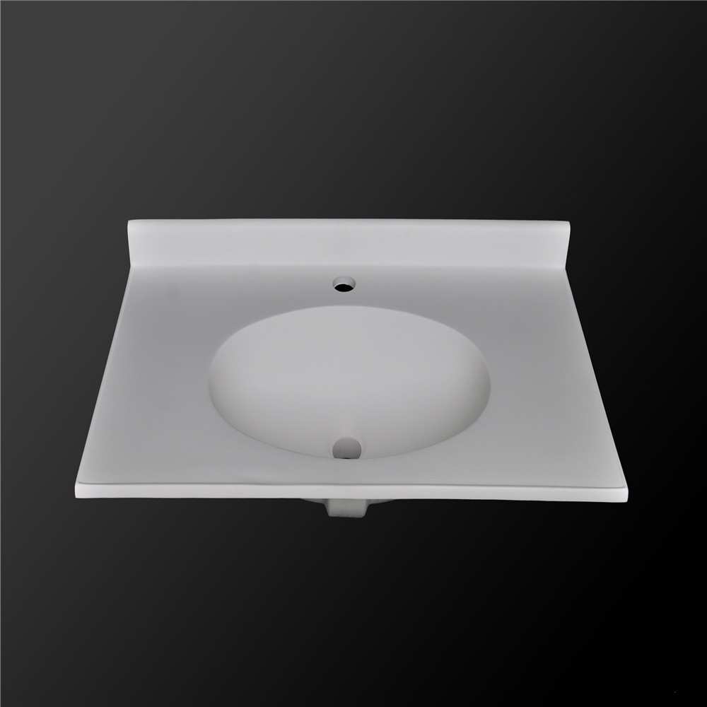 Mediterranean Style Royal Blue Round Bowel Bathroom Vanity
