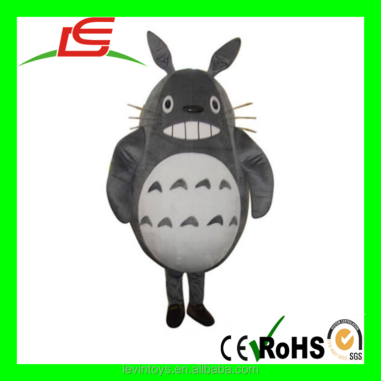 China Manufacturer Customized Lovely Totoro Animal Moscot Costumes For Kids