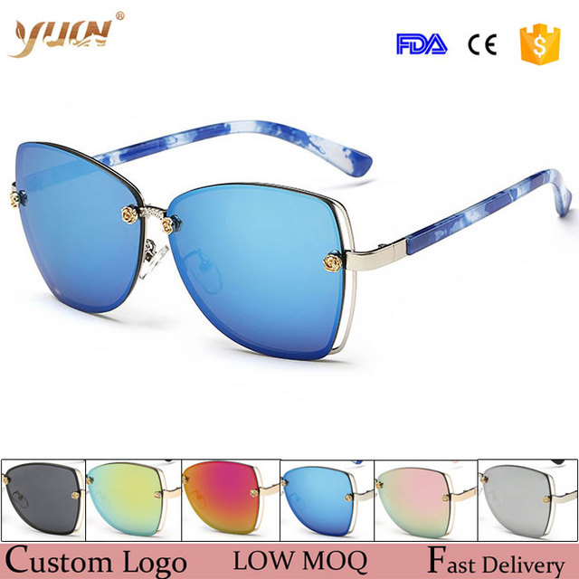 WHOLESALE butterfly frame fashion sunglasses women custom logo stock glasses with fast delivery