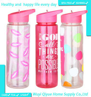 2015 promotion made in china custom design Mason jar 680ml colorful outdoor sport water bottle with screw cover