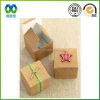 Online wholesale brown kraft paper promotional chocolate gift paper packaging box