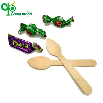 Chinese wooden ice ceam spoon supplier