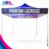 Custom printed trade show fold outdoor canopy tent for sale
