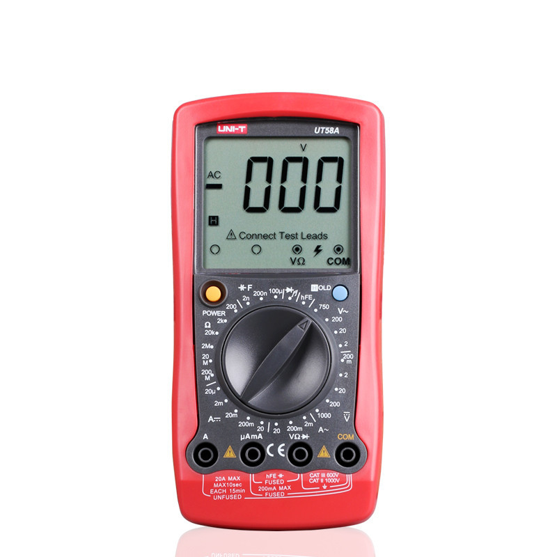 Factory direct Profesional youlede Uni-t UT58 A/B/C/<strong>D</strong>/ E serie digital multimeter