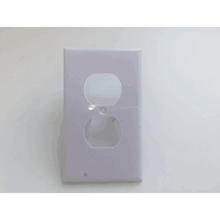 Duplex Outlet Wall Plate With Led Night Lights No Battery No Wires Easy Install plug cover