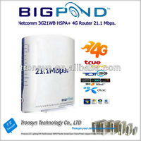 Original Unlock HSPA+ 21.6Mbps BigPond 3G21WB HSPA 3G Wireless Router With Ethernet RJ45 Port