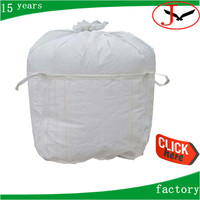 500kg big bag for scrap with top cover, 1000kg FIBC bulk bag for construction waste