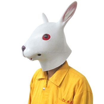 costume party white bunny/rabbit mask for women and children