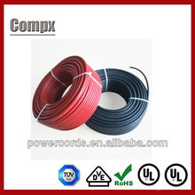 solar cable UL TUV solar cable 4mm solar power cable