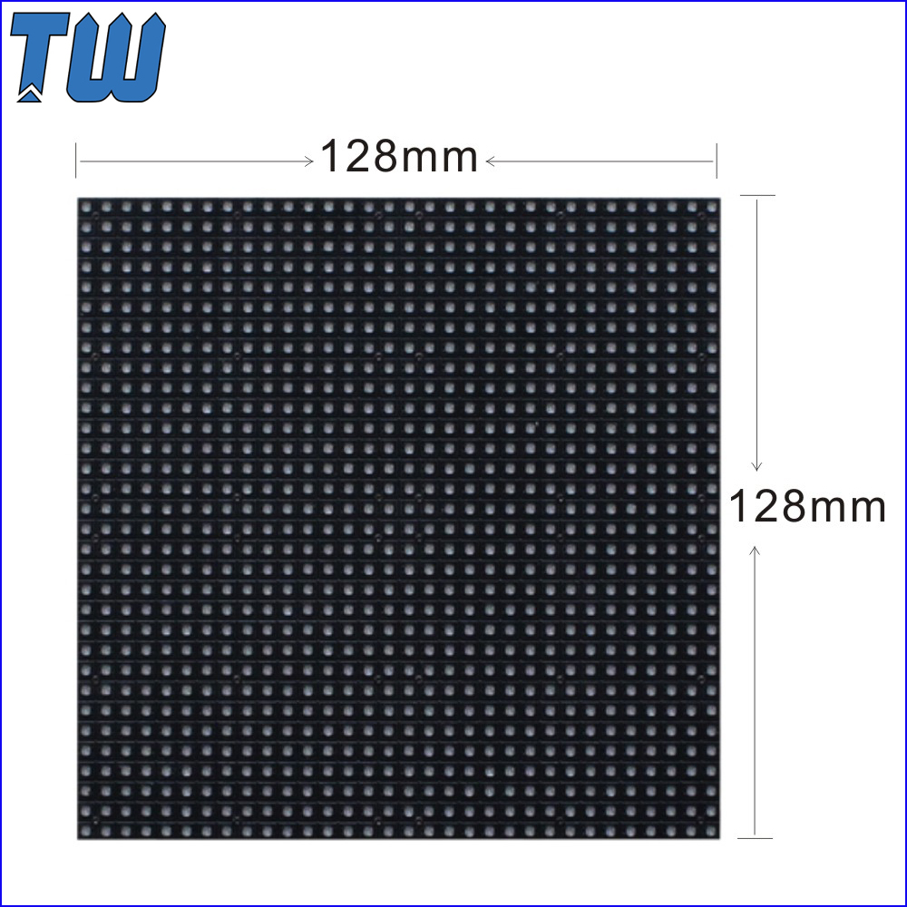 720P Video Display Pixel Pitch 4MM LED Module Screen 1200nits Brightness Powerful IC Energy Saving