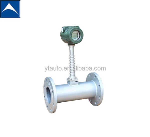 LUGB vortex natural gas flow meter/pulse output with totalizer/304 material