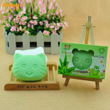 Skin Detox Acne Remove Aloe Vera Green Soap for Baby Skin Care