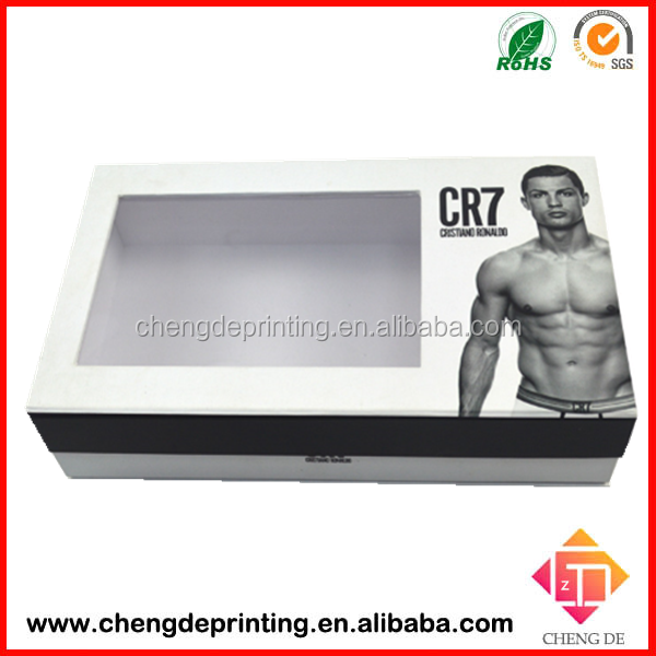 2015 facroty custom Magnetic Closure Gift Box for Underwear