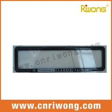 Decorative Acrylic License Plate Frames