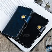 Wholesale New Wax Pattern Genuine Flip Wallet Leather Case for APPLE iPhone SE 5 5S phone covers