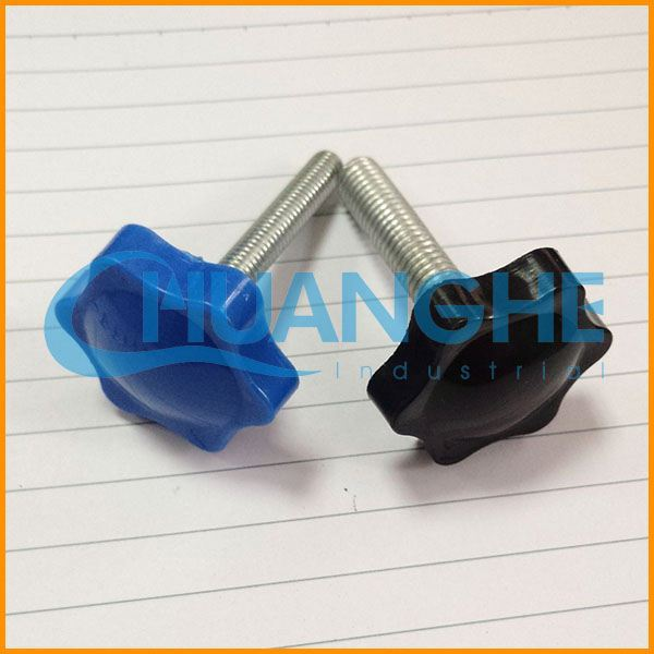 China supplier cheap red office chair plastic clamping knobs