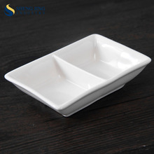 High Quality Dinnerware Sets white Porcelain Sauce Dish
