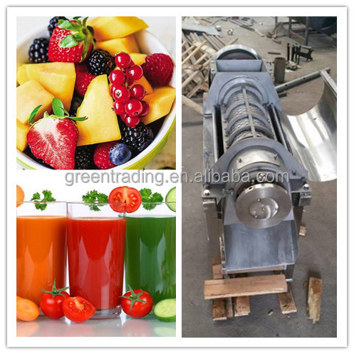Food and vegetable processing mango fruit pulping machine