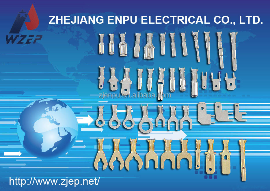 China WZEP/JEP Copper Terminal for Automobile,Motorcycle,Electronics,Lightings,Swiches and Radios Samll Brass Connector