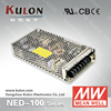 MEAN WELL Power Supply NED-100 5V 12V 24V Dual Output Miniature Power Supply