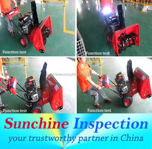Snow Sweeper Blower /Snow Blowing Machine Quality Inspection Service in Zhengzhou / Shangqiu / Luan / Dezhou / Qingdao