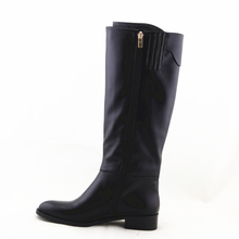 LQEB26 special design warm long boots flat knee high horse boots