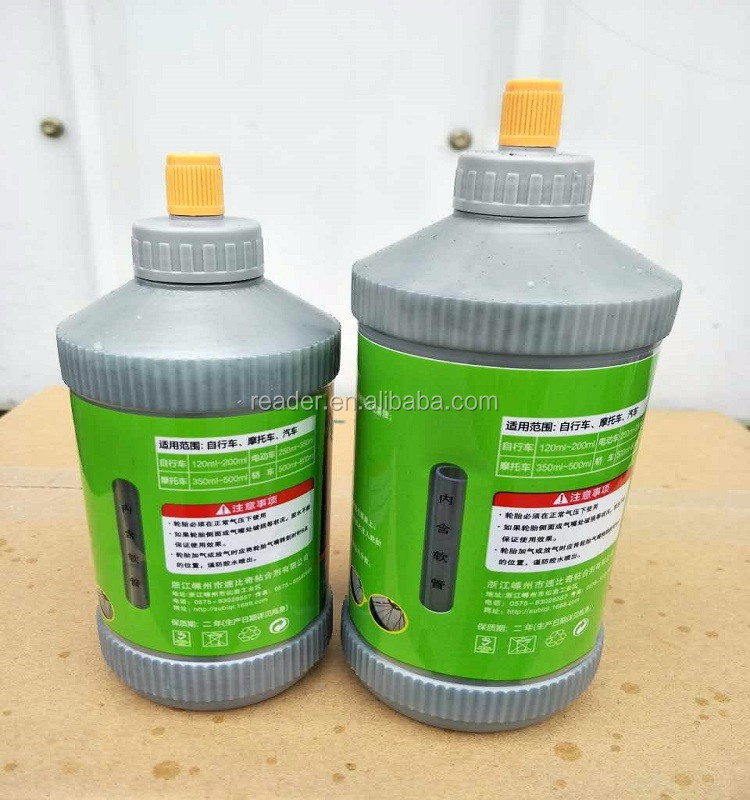 Liquid for motorcycle&car tire sealant