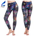 Lotsyle Printing Dry Fit Fitness Yoga Pants Custom Women Running Tights