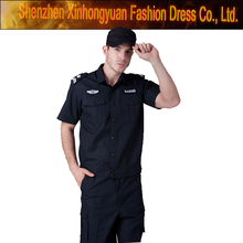 custom black security guard clothing