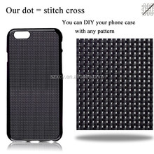 Alibaba stock soft TPU diy cross stitch phone <strong>case</strong> for iPhone 6 7 plus