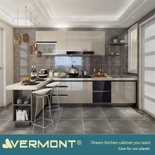 2018 Hangzhou Vermont Customized Modern Kitchen Cabinet Kitchen Cupboard