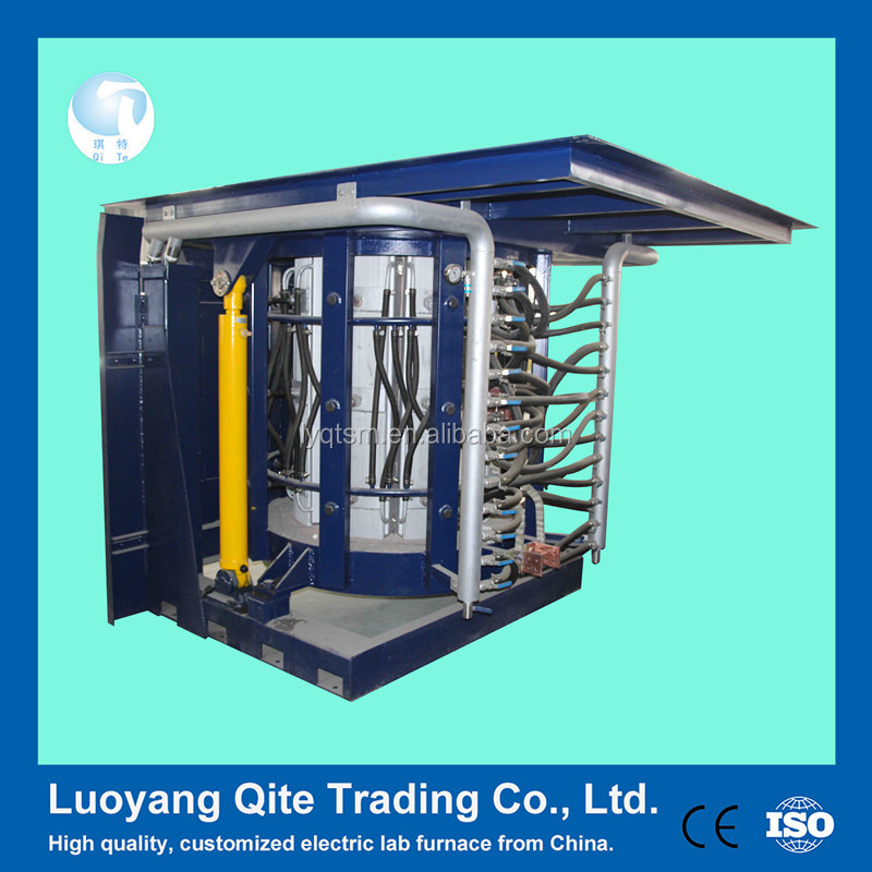 Price of intermediate frequency aluminium,copper ,bronze ,brass,iron,steel scrap induction melting furnace for sale
