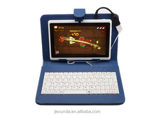 "7"" Tablet PC PU Leather Keyboard Stand Case For 7 Inch Kids Tablet PC Q88 7"" Keyboard Cover Case Best Gift"