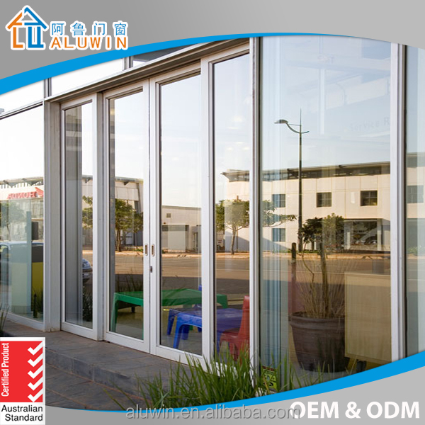 aluminium sliding doors wiht fly screen