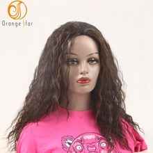 wholesale halloween synthetic hair wig curly wigs for black women synthetic fiber