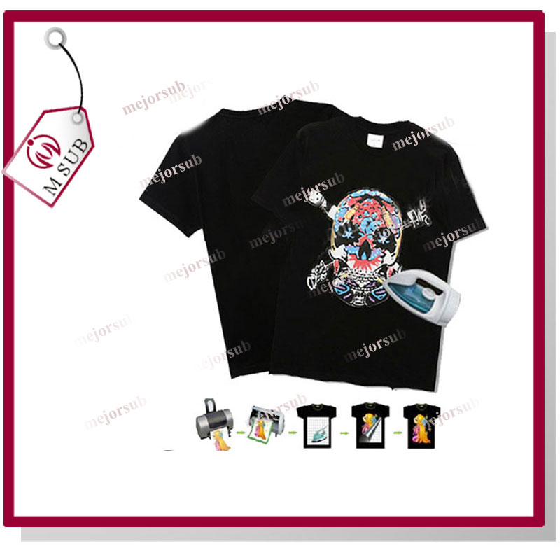 Superior Quality!! A4/A3/custom forever laser dark self weeding transfer paper for cotton t-shirt