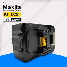 Rechargeable battery pack power tool for BL 1830 BL1840 BL1815 models 18V 3.0Ah LI-ION batteries for LXT1500