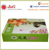 Customized logo and printing Apple Fruit Packaging Boxes