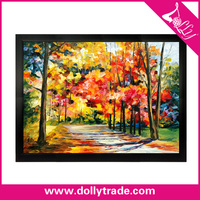 Graceful Forest Scene Picture Natural Beauty Oil Painting