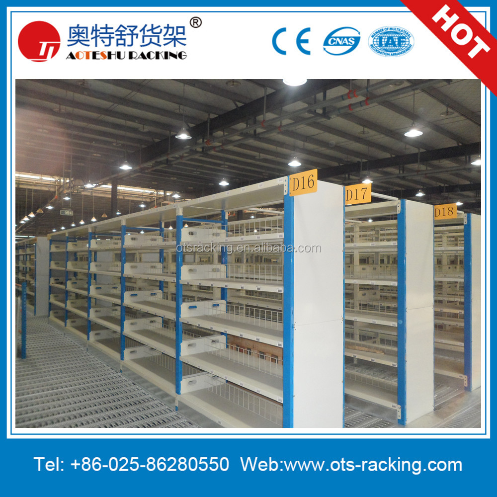 Light Duty Slotted Angle Iron Metal Rack For Supermarket
