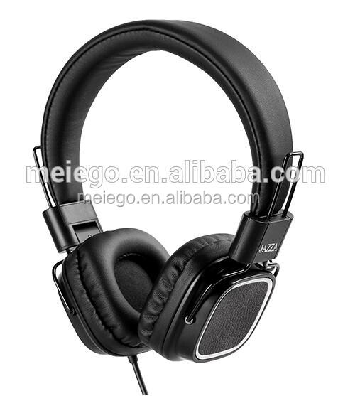 Leather Noise Cancelling Hi-Fi Heeadset W/ Remote Monitor