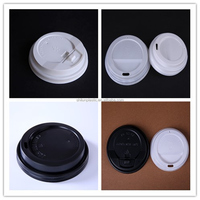Bulk plastic paper Cup Lids for hot drinking/coffee/ milk tea