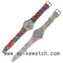 New Design Children Plastic Quantum Watch