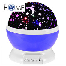 Star Projector Lamp LED Starry Sky Stars Night lights Cosmos Star Master Projector Lamp For Baby Kids Without Power line