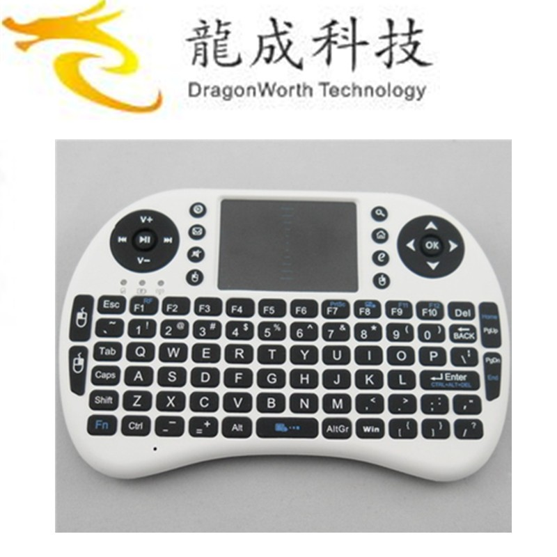 Mini i8 2.4G Wireless Keyboard with Touchpad for mini PC Pad smart Google Android TV Box